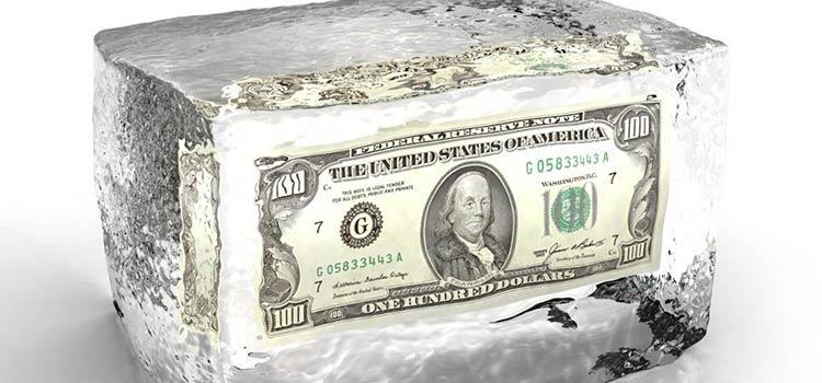 блокировки иностранного счета