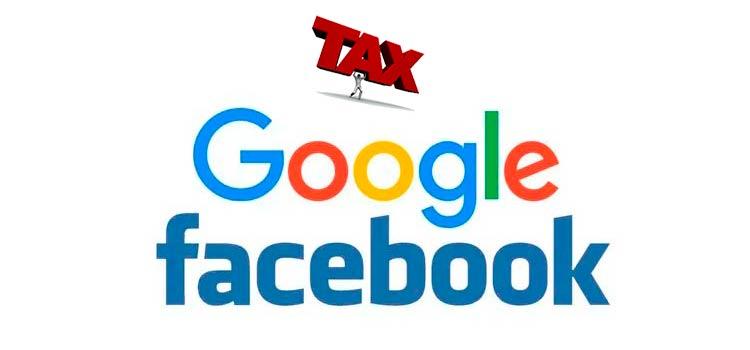 налог на Facebook и Google