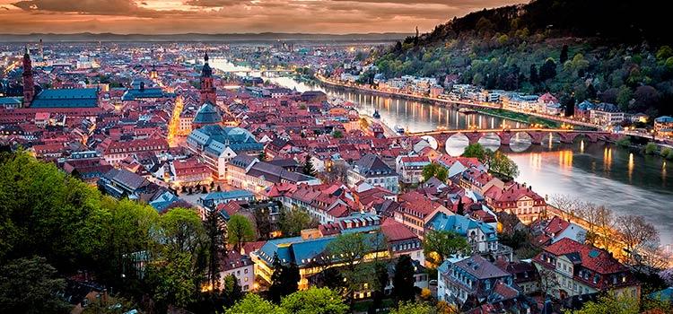 Переезд на ПМЖ в Германию в Гейдельберг — достопримечательности и семейный отдых