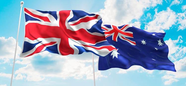 бизнес Великобритания – Австралия
