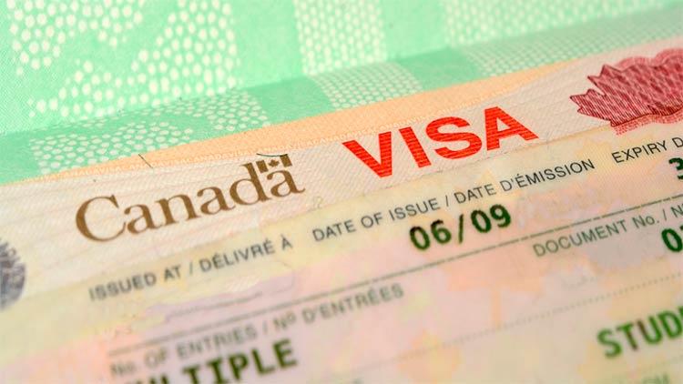 упрощение оформления визы в Канаду