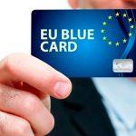 Голубая карта ЕС – 16000  EUR