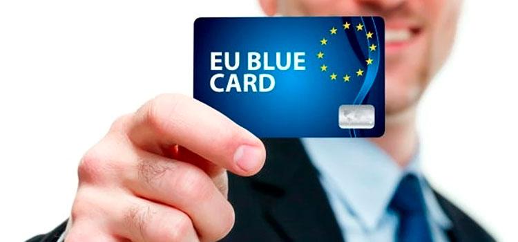 Голубая карта ЕС позволяет жить и работать