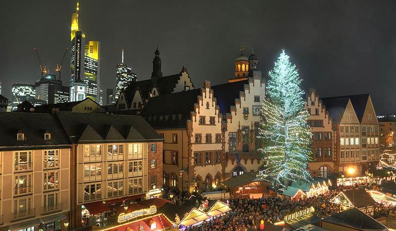 провести Рождество во Франкфурте