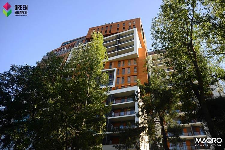 квартира в ЖК Зеленый Будапешт в Тбилиси