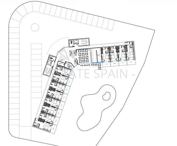 план отеля в Аликанте
