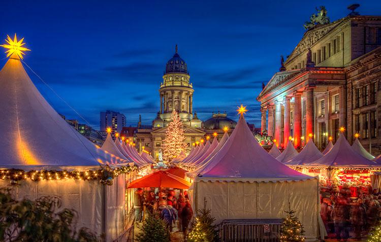 Берлин в предрождественский период