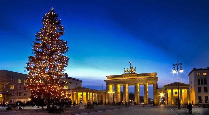 в Берлине перед Рождеством