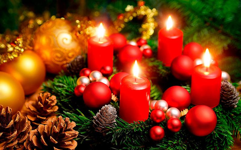 рождественский венок в германии