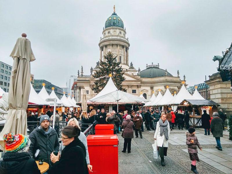 на Рождество в Германию