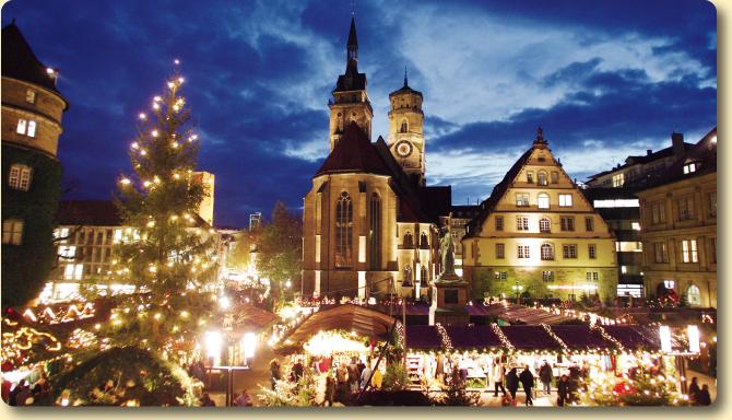 Почему стоит провести Рождество в Штутгарте