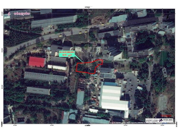 земля в Тбилиси в Грузии