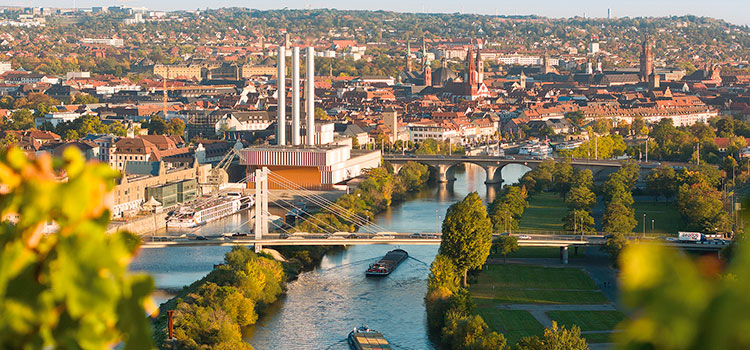 на ПМЖ в Германию в Вюрцбург