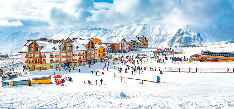 Гудаури – лучший курорт для горнолыжного отдыха в Грузии
