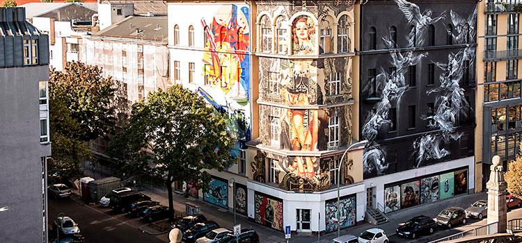 Улицы Берлина стрит-арт