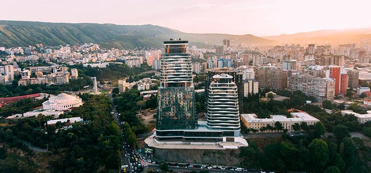 квартира в новостройке в Тбилиси