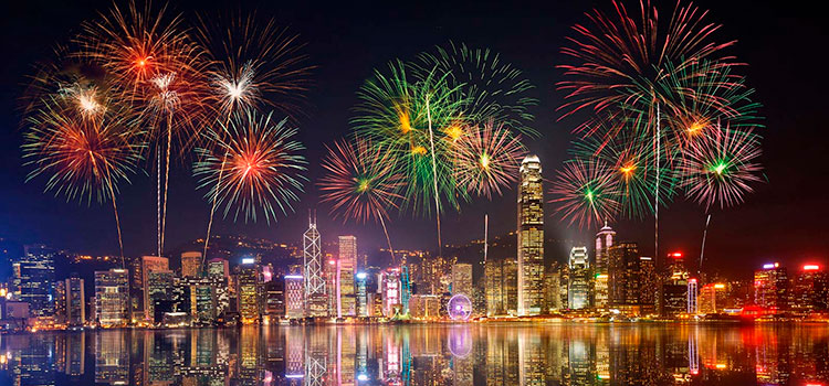Новогодний марафон в Гонконге