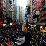 Новогодняя акция протеста против правительства в Гонконге привела к аресту 400 человек