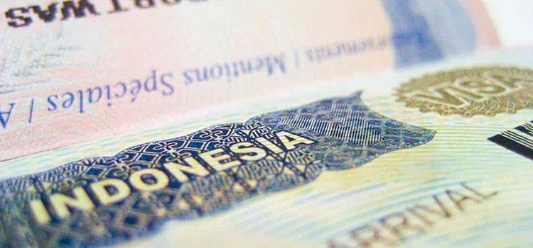 какие существуют визы в Индонезию