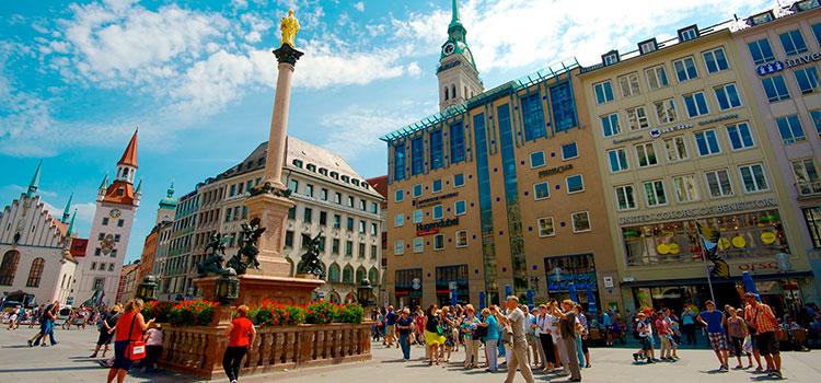 в Германию на ПМЖ в Мюнхен