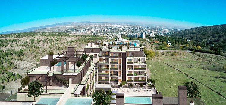 Аренда шикарных апартаментов в ЖК Krtsanisi