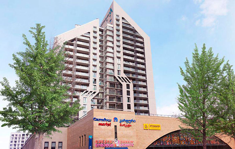 недвижимость в премиальном жилом комплексе Archi Tower