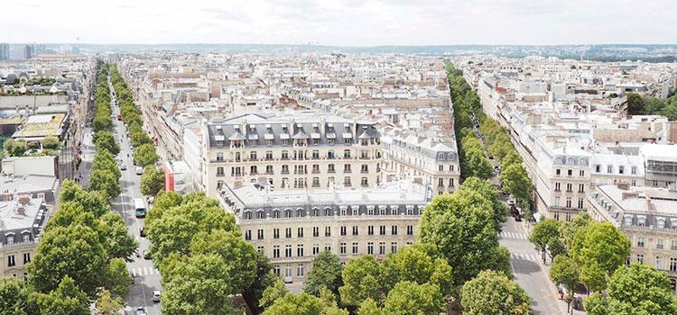 комфортабельные апартаменты в VIII округе Парижа