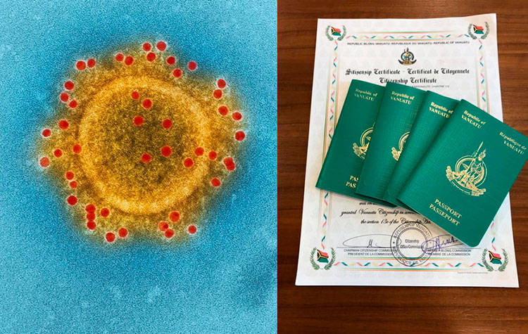 паспорта Вануату