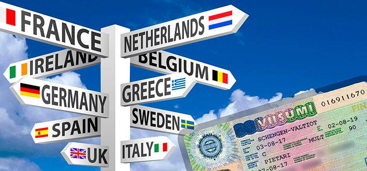 Перечень стран, шенгенские визы