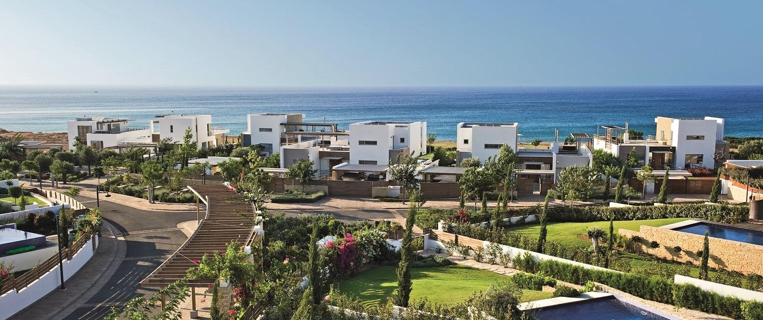 виллы на первой линии в ЖК Akamas Beach Villas на Кипре
