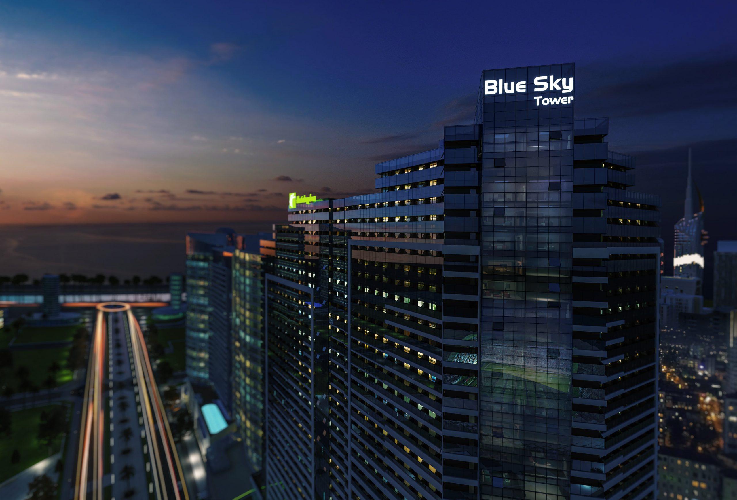 апартаменты у самого моря в новостройке BlueSky Tower