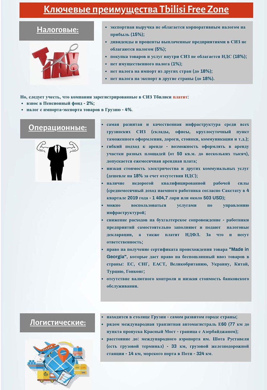 Преимущества СИЗ Тбилиси