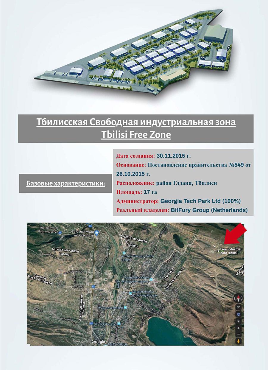 Свободная индустриальная зона Тбилиси