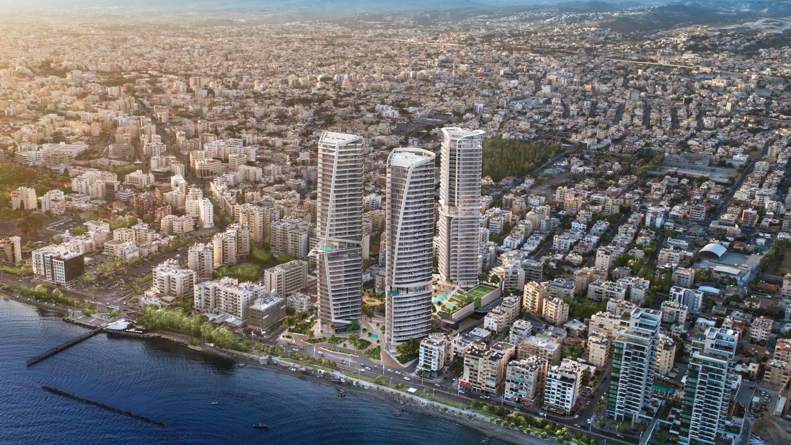 офисы на Кипре для избранных в комплексе Trilogy Limassol Seafront