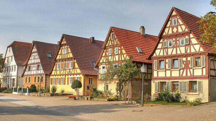 дома из германии