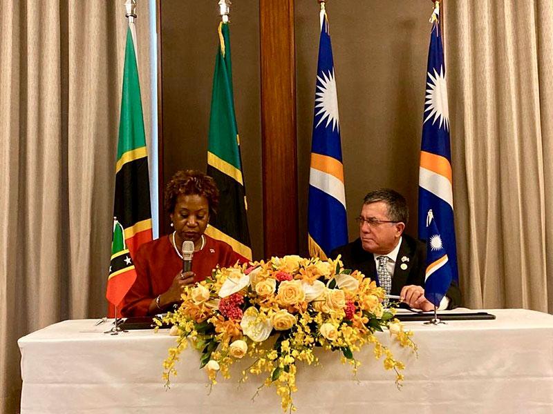 соглашение Невиса и Маршалловых островов