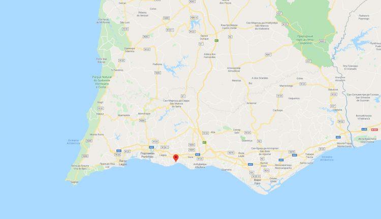 берег Португалии