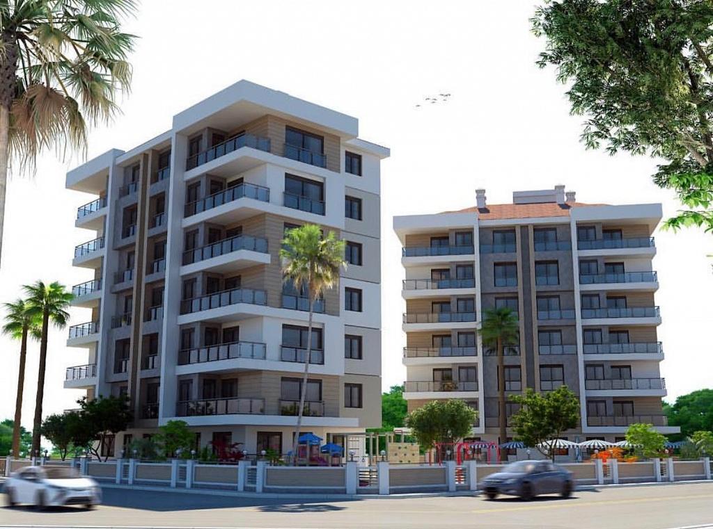 Просторные квартиры в Анталии с правом на ВНЖ Турции – 72 500 EUR
