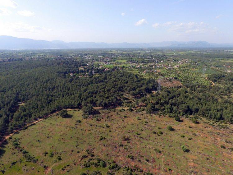 участок земли в Анталии