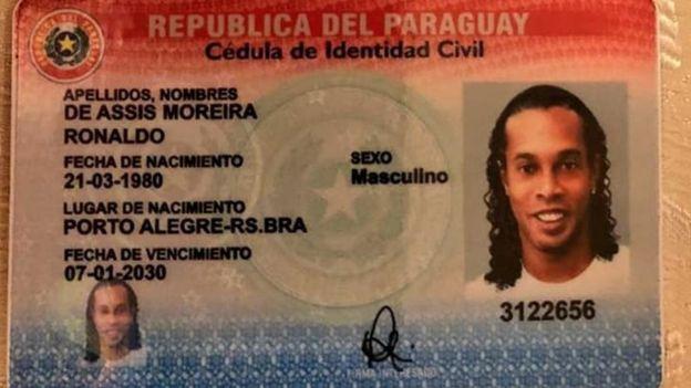 парагвайский паспорт