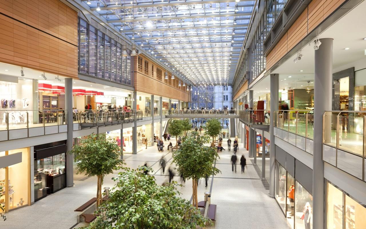 Купить коммерческую недвижимость в Германии — торговый центр — 3 650 000  EUR