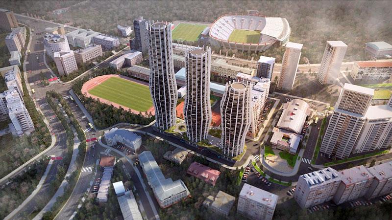 Alliance Highline: апартаменты в элитном комплексе в Тбилиси – от 1 700 USD за 1 м2