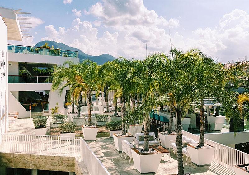 счет в современном банке в Доминике