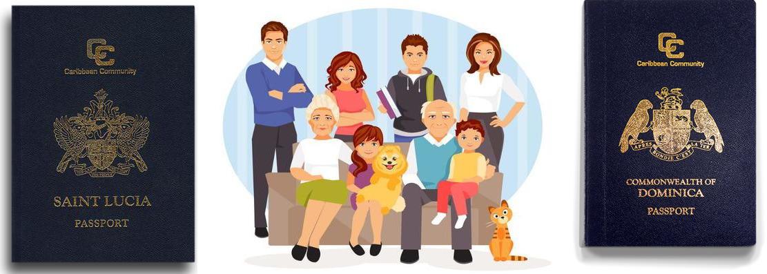 Гражданство Сент-Люсии и Доминики стало доступнее для больших семей
