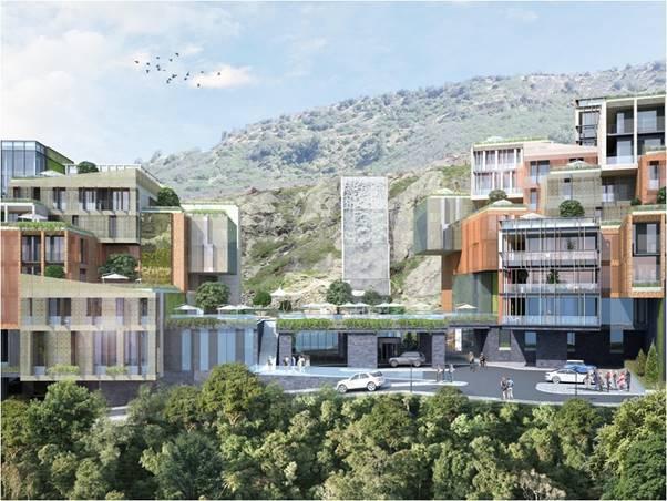 Новый отель в Тбилиси