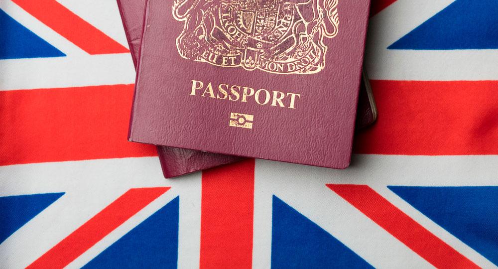 получение паспорта Великобритании