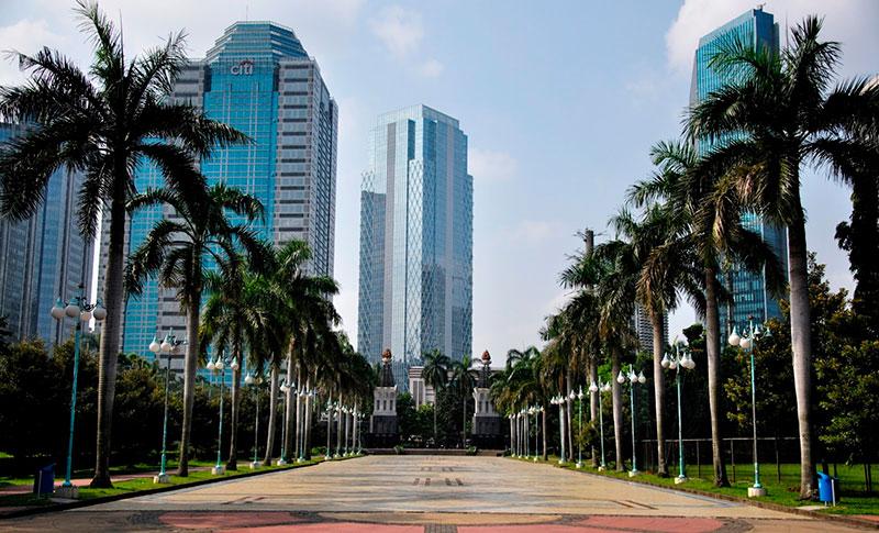 в каких городах бизнес в Индонезии