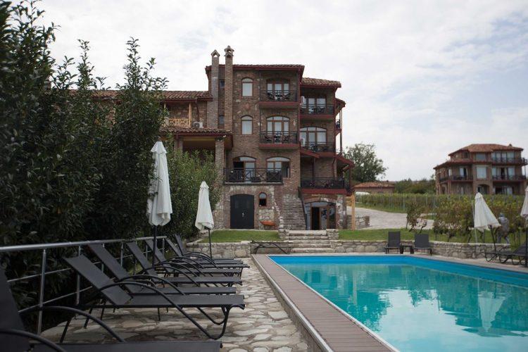 виллы в Грузии с виноградником от Wine Village in Chateau Schuchmann