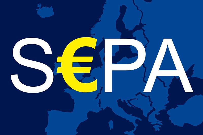 счет SEPA в ЕС удаленно