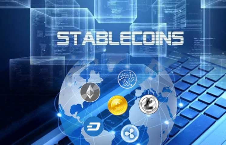 по stable coins в одном материале